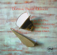Dominic Duval Quintet - Cries and Whispers - CJR 1111