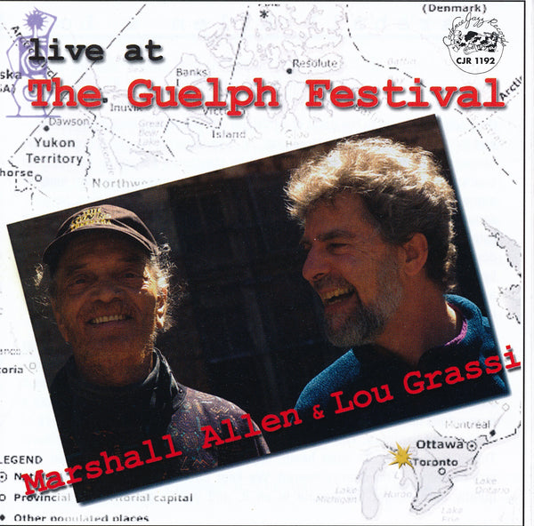 Marshall Allen - Lou Grassi - Live at The Guelph Festival - CJR 1192