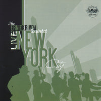 Ernie Krivda - Live in New York City - CJR 1195