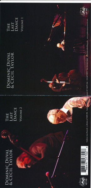 Cecil Taylor - Dominic Duval - The Last Dance Vol 1 and 2 - CJR 1229/1230