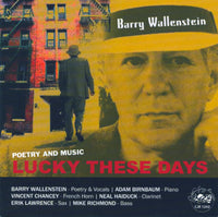 Barry Wallenstein - Lucky These Days - CJR 1242
