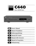 NAD C440 AM/FM Tuner. New. Sealed. Stock Picture. Unit is new in box.