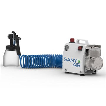 Sany+ Air Sanitising Bundle (Compressor and SIP 5 Litre Sanitising Liquid)