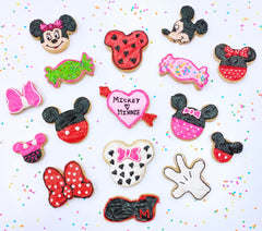Mickey mouse Minnie Mouse  Cookie Decorating Kit