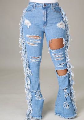 Cut Loose Denim Jeans