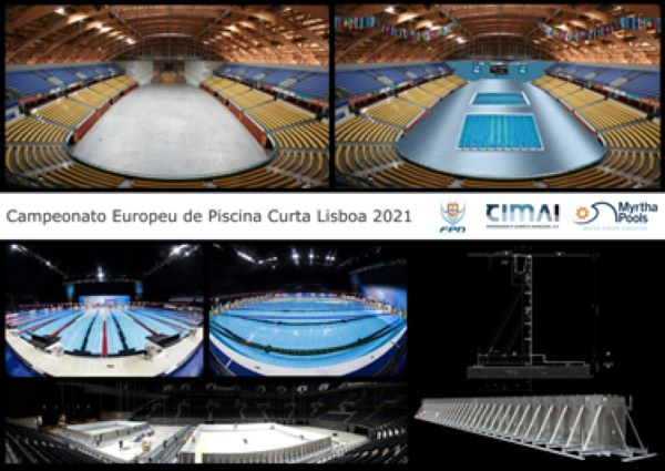CIMAI at the European Short Course Swimming Championships in 2021