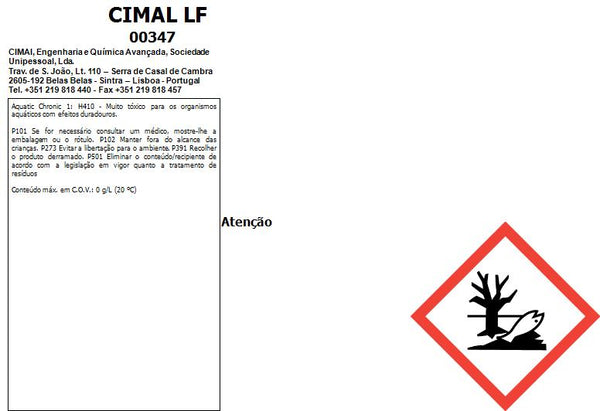 CIMAL LF - Bactericide and algaecide