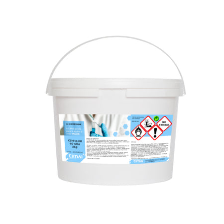 CIM CLOR 60 GRA - Granulated chlorine of fast action for swimming pools