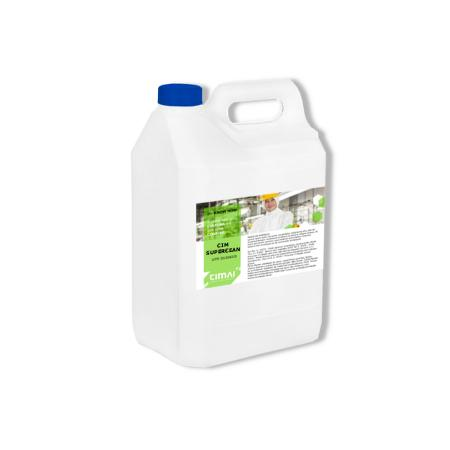 CIM SUPERCLEAN - Multipurpose detergent, ammoniacal, super concentrated