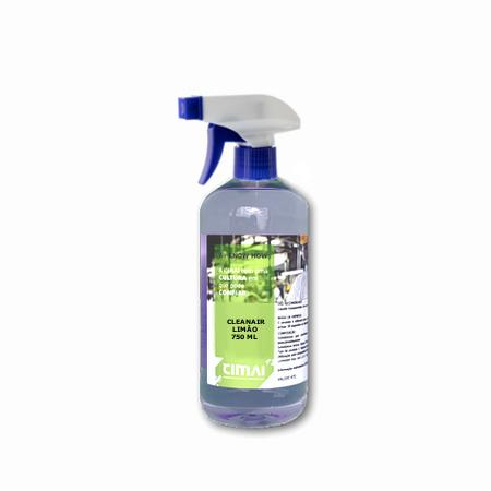 Desinfetante, germicida e desodorizante do ar - 750ml - CLEANAIR LIMÃO