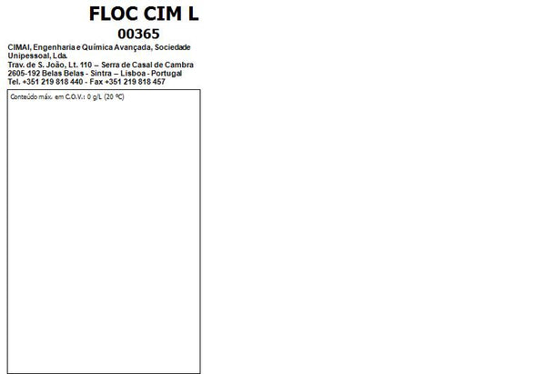 FLOC CIM L - Flocculant for pool water