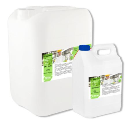 SKY SURF - Liquid detergent for washing machines, suitable for white and colored fabrics