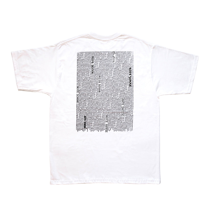 RS: TEE_01 TSHIRT WHITE