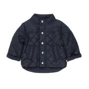 BEBE Navy Boys Quilted Jacket