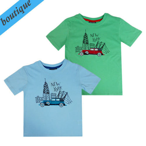 Urban Crusade Boys New York Tee - RedHill Childrenswear
