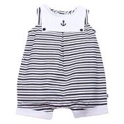Bebe Hamish Woven Anchor Romper - RedHill Childrenswear