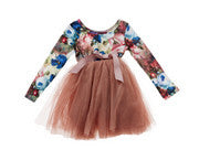 Designer Kidz Coffee LS Tutu - RedHill Childrenswear