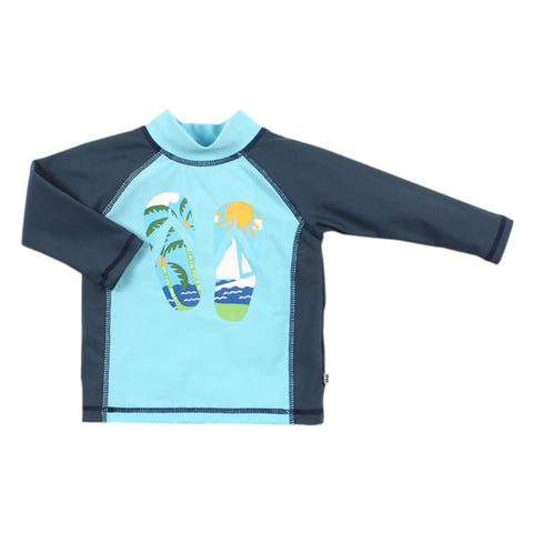 BEBE Felix UPF 50+ LS Rash Top - RedHill Childrenswear