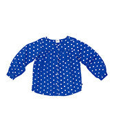 Ouch Girls polka Dot LS Tunic - RedHill Childrenswear