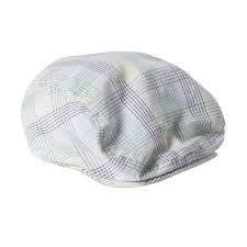 Bebe Oliver Check Pageboy Hat - RedHill Childrenswear