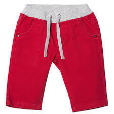 BEBE Joey Red Pull on Chino Pants - RedHill Childrenswear