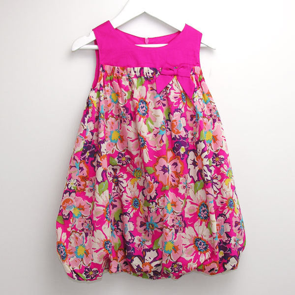 Oshkosh Pink Balloon Dress - RedHill Childrenswear