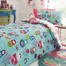 Bluezoo Russian Doll Duvet and Pillow Set - RedHill Childrenswear