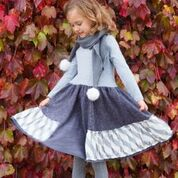 Chalk n Cheese NutCracker Spin Dress - RedHill Childrenswear