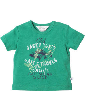 Bebe Oliver Bait and Tackle Tee - RedHill Childrenswear