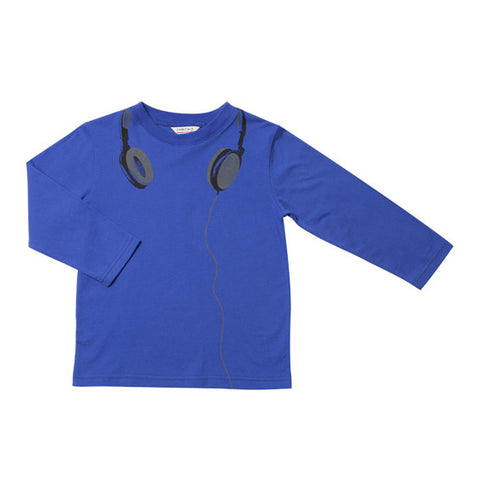 Fox and Finch Dean Headphones Tee - RedHill Childrenswear