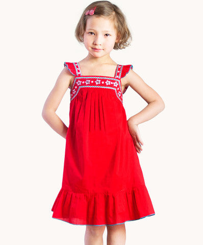 ETERNAL CREATION Gorgeous Red Christmas Dress - RedHill Childrenswear