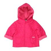BEBE Girls Heart Quilted Jacket