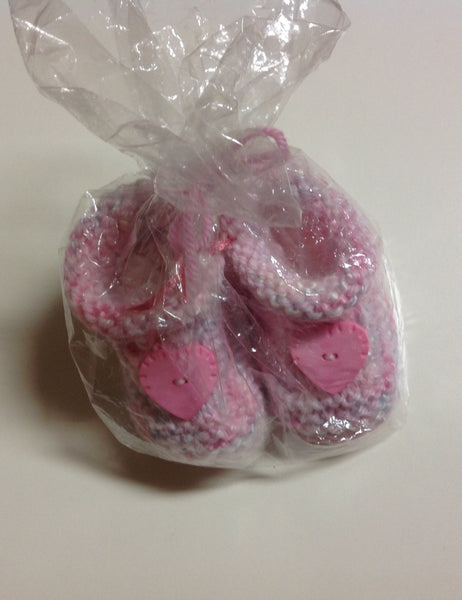 Handmade Knitted Booties - RedHill Childrenswear