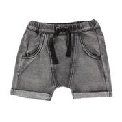 Fox & Finch Grey Denim Acud Wash Shorts