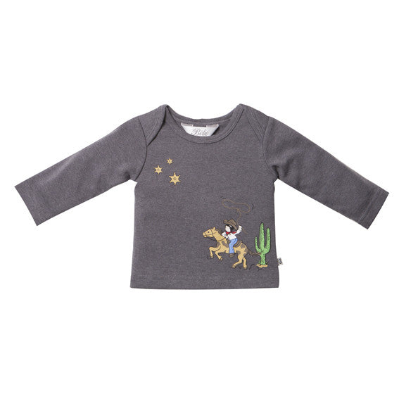Bebe Toby Cowboy Tee - RedHill Childrenswear
