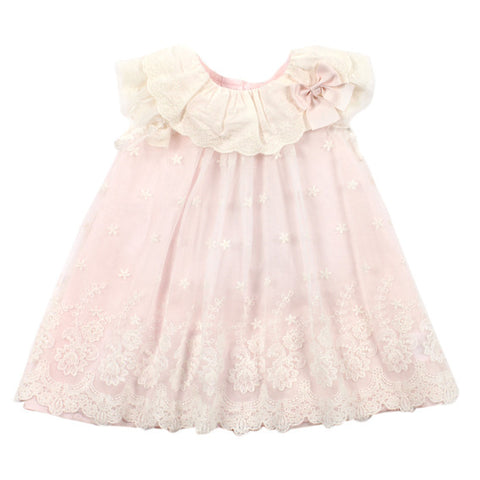 BEBE Lace Overlay Dress - RedHill Childrenswear