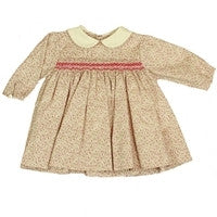 Korango Smocked Floral long Sleeve Dress - RedHill Childrenswear