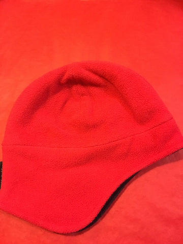 Muddy Puddles Red Navy Sherpa Hat