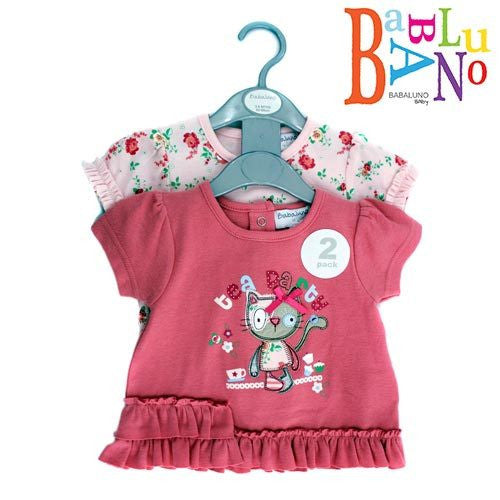 Set of 2 Tea Party Tee - RedHill Childrenswear