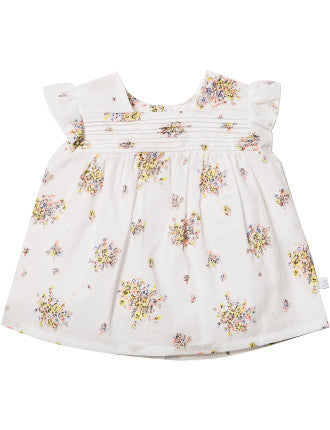 BEBE Bree Pintuck Blouse - RedHill Childrenswear