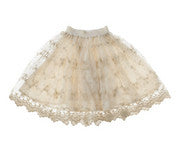 Designer Kidz Gold Embroidery Skirt - RedHill Childrenswear