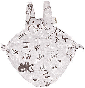 Toshi Baby Bunny in Animal Print Comforter - RedHill Childrenswear