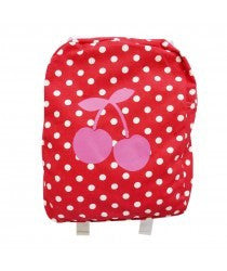 Rhubarb Red Backpack - RedHill Childrenswear