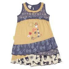 Hooligans Kids Sunny Giraffe Dress - RedHill Childrenswear