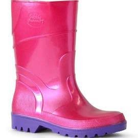 Bata Pink and Purple Gumboots