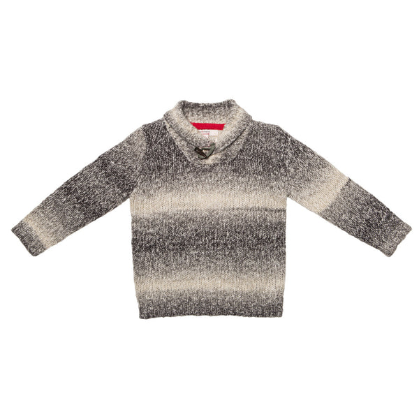 Fox and Finch Boys Salt and Pepper Jumper - RedHill Childrenswear