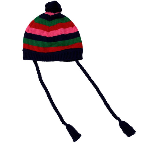 Korango Red Striped Beanie - RedHill Childrenswear