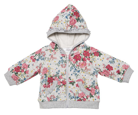 BEBE Macy Floral Print Fleece Jumper - RedHill Childrenswear