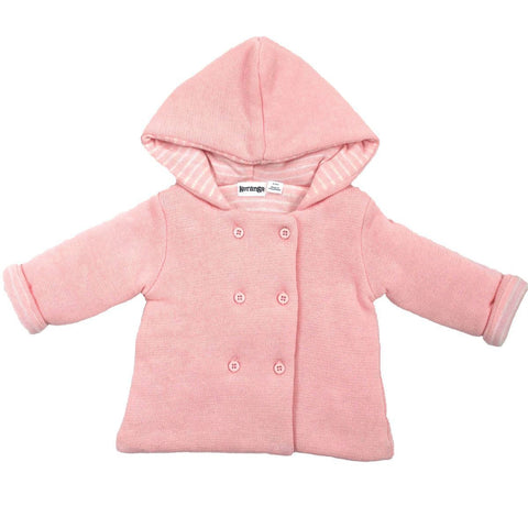 KORANGO Baby Hearts Pink Lined Knit Jacket - RedHill Childrenswear