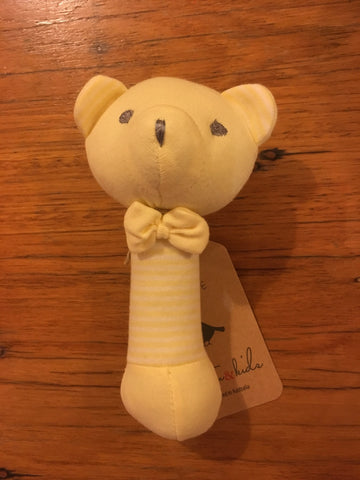 Emotion & Kids Lemon Bear Rattle - RedHill Childrenswear